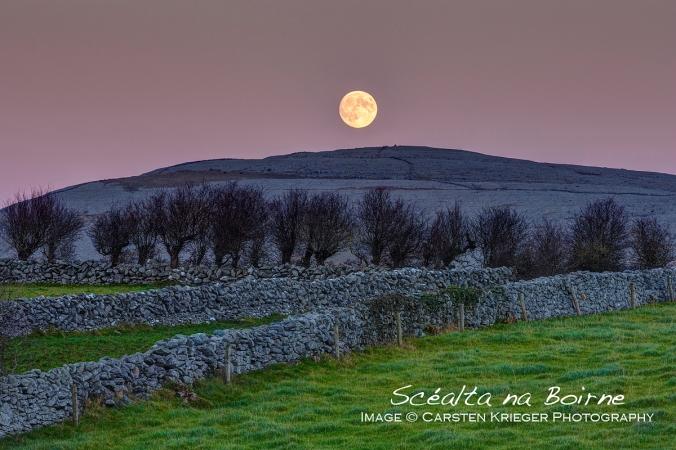 Burren Full Moon