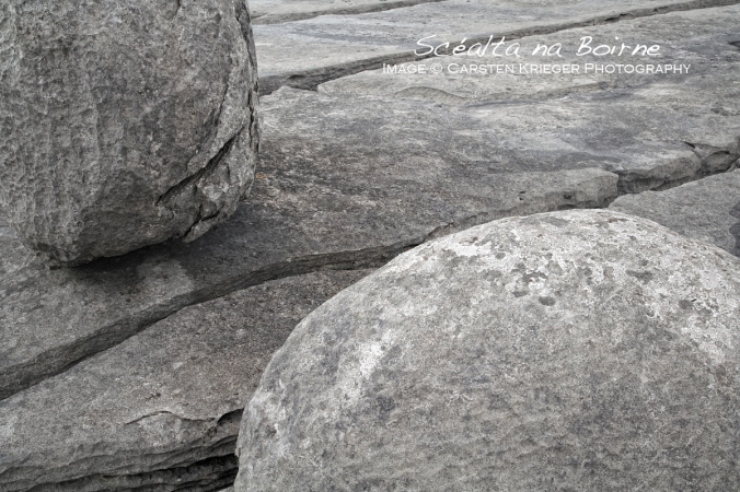 Limestone Pavement & Erratic