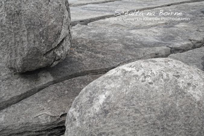 Limestone Pavement & Erratic