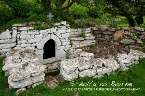 Holy Well, Gleninagh, The Burren, County Clare, Ireland