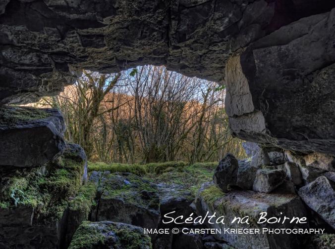 Glencurran Cave Entrance